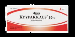 KYYPAKKAUS 50 mg tabl 3 fol