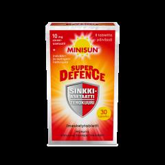 Minisun Super Defence Sinkkiasetaatti 30 tabl