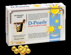 D-Pearls 20 mikrog 120 kaps