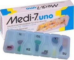 Medi-7 Uno viikkoannostelija 7 lokeroa X1 kpl