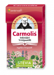 Carmolis Inkivääri Yrttipastilli 45 g