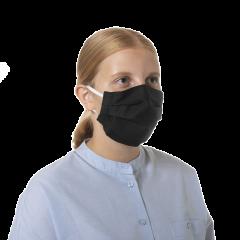 Kotimainen, Suomessa valmistettu kestokäyttöinen kangasmaski, väri musta
