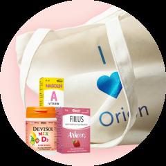 Orion keräilykampanja 2021, Orionin tuotteita ja puuvillakassi