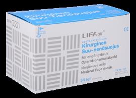 Lifa Air kirurginen suu-nenäsuojus sininen type IIR 50 kpl